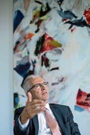Rafael Corazza ist seit 2006 Direktor der Wettbewerbskommission. (Bild: Pius Amrein (Bern, 20. Juli 2018))