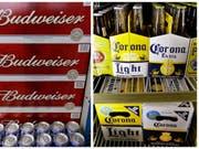 Dank der WM wurde mehr Bier getrunken: Das Geschäft des Corona- und Budweiserherstellers lief gut. (Bild: KEYSTONE/AP/UNCREDITED)