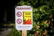 Im ganzen Kanton Appenzell herrscht Feuerverbot. (Bild: Benjamin Manser)