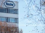 Der Pharmakonzern Roche trotzt der Konkurrenz durch sogenannte Biosimilars. (Bild: KEYSTONE/ALEXANDRA WEY)
