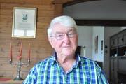 Josef Bischof-Sutter, pensionierter Gemeindeammann und Familienforscher (Bild: Sabine Schmid)