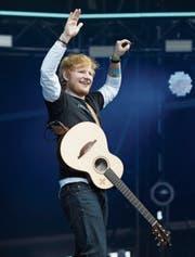 Ed Sheeran: «Je grösser das Publikum, desto mehr Spass.» (Bild: Jo Hale/Redferns (Swansea, 26. Mai 2018))