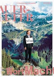 Titelseite mit Christoph Rütimann: Tell me, 2004, Foto Christoph Hirtler. (Bilder: Aus dem Heft)