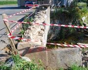 Das Schaden ist massiv (Bild: Luzerner Polizei).