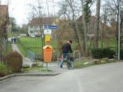 In Arbon stören diese Hindernisse einen Velofahrer. (Bild: Bikeable)