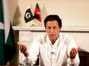Der ehemalige Cricketstar Imran Khan hat die Parlamentswahl in Pakistan nach Angaben der Wahlkommission gewonnen. (Bild: KEYSTONE/AP Tehreek-e-Insaf)