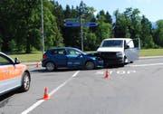 Die Unfallstelle. (Bild: Luzerner Polizei)