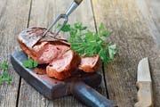 Da kommt Freude auf: luftiger Fleischkäse mit feiner Kruste. (Bild: Getty)