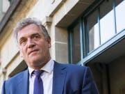 Vor dem CAS abgeblitzt: Der ehemalige FIFA-Generalsekretär Jérôme Valcke bleibt gesperrt (Bild: KEYSTONE/CYRIL ZINGARO)