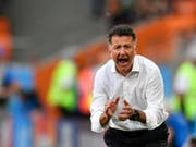 Juan Carlos Osorio feuert seine Männer an (Bild: KEYSTONE/AP/MARTIN MEISSNER)