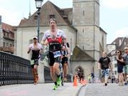 Ronnie Schildknecht will ein Siegjubiläum am Ironman Switzerland (Bild: KEYSTONE/SIGGI BUCHER)