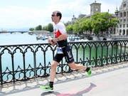 Ronnie Schildknecht strebt am Ironman Switzerland in Zürich den zehnten Sieg an (Bild: KEYSTONE/SIGGI BUCHER)
