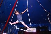 Die Kinder im Reka-Feriendorf proben eine Woche lang ihre Aufführung. (Bild: Corinne Bischof)