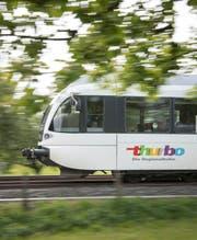Die Thurbo-Züge verkehren in der Kalenderwoche 31 nicht zwischen Weinfelden und Kreuzlingen. (Bild: Ralph Ribi)