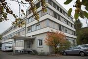 Wie weiter im Haus Haggenstrasse 45? Das will ein FDP-Stadtparlamentarier in einem Vorstoss wissen. (Bild: Ralph Ribi - 23. Oktober 2015)