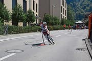 Noemi Wallimann wird Schweizer Meisterin Slalom. (Bild: PD)