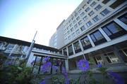 Es geht voran mit dem Projekt «Um- und Neubau Kantonsspital Uri». (Bild: Urs Hanhart, 4. Januar 2017)