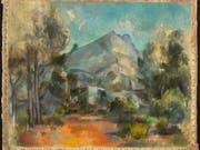 Ein Gemälde macht Schlagzeilen: «La Montagne Sainte-Victoire» von Paul Cézanne. (Bild: Kunstmuseum Bern)