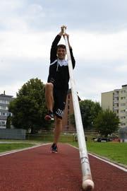 Andri Oberholzer ist nach der Schulterverletzung wieder bereit für den Wettkampf. (Bild: Rita Kohn)
