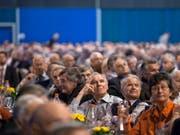 Aktionäre nehmen mit ihrer kritischen Haltungen an Generalversammlungen vermehrt auf Geschäftsentscheide Einfluss. (Bild: KEYSTONE/ENNIO LEANZA)