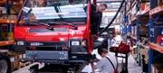 Herstellung eines Kommunalfahrzeugs bei Aebi in Burgdorf. (Bild: PD