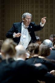 Dirigent John Eliot Gardiner eröffnet prominent die Migros-Saison 2018/19 im KKL Luzern. (Pius Amrein / LZ)