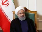 Behörden ermitteln: Sollte die Europa-Reise des iranischen Präsidenten Hassan Ruhani von einem Anschlag überschattet werden? (Bild: KEYSTONE/PETER KLAUNZER)