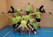 Die «Rock Sliders» trainieren jeweils am Montag in der Fischinger Chilberg-Turnhalle. (Bild: Maya Heizmann)