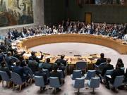 Der Uno-Sicherheitsrat will sich noch diese Woche erneut mit der Lage in Syrien beschäftigen. (Bild: KEYSTONE/AP/MARY ALTAFFER)