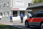 Der letzte Überfall auf die Raiffeisenbank ereignete sich letzten Freitag an der Stichermattstrasse in Emmen. (Bild: René Meier, 27. Juli 2018)