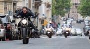 Der 56-jährige Tom Cruise schlüpft bereits zum sechsten Mal in die Rolle des Ethan Hunt. (Chiabella James/Paramount Pictures and Skydance via AP)