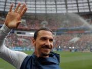 Zlatan Ibrahimovic ist der gefeierte Held im Major League Soccer (Bild: KEYSTONE/EPA/SERGEI ILNITSKY)