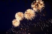 Am 1. August ist das Abbrennen von Feuerwerkskörpern verboten. (Bild: Werner Schelbert)