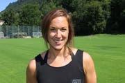 «Das Trainingsgelände auf dem Urnersee ist genial», sagt die 34-jährige Flüelerin. (Bild: Remo Infanger, Altdorf, 30. Juli 2018)