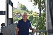 Rudolf Lippuner war früher einmal im Verwaltungsrat der Werdenberger Schloss-Festspiele. Seit Juni 2017 ist er dessen Präsident. (Bild: Heini Schwendener