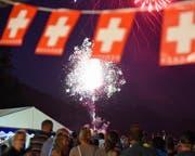 Jegliches Abrennen von Feuerwerk in welcher Konfiguration auch immer ist ab sofort strengstens verboten. Dieses absolute Feuerverbot gilt im Kanton Zug bis auf Widerruf. (Bild Robert Hess (Lungern 31. Juli 2017))