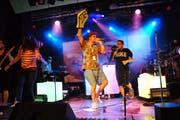Die Musikauswahl beschränkt sich nicht auf Jazz. Deshalb trat beispielsweise auch Knackeboul auf. (Bild: Hansruedi Kugler)