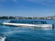 Hitzefrei für «Felix» und die zwei anderen Limmatschiffe. Aufgrund der grossen Hitze verkehren sie vorübergehend nicht mehr. (Bild: Zürichsee Schifffahrtgesellschaft)