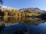Der Albulapass im Kanton Graubünden. (Bild: KEYSTONE/ARNO BALZARINI)