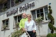 Philipp und Claudia Blum führen den Gasthof Ochsen. Die Nachfolge ist auch bei ihnen ein Thema. (Bild: Pius Amrein (Roggliswil, 29. Juni 2018))