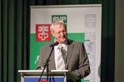 Christoph Keller, Präsident der SVP Nidwalden. (Bild: André A. Niederberger (Stans, 5. Januar 2018))