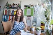 Nach dem erfolgreichen Abschluss will Lorena Späth nun ein Zwischenjahr einlegen. (Bild: Ralph Ribi)