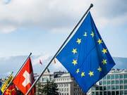 Der Bundesrat sieht technische Fortschritte bei den institutionellen Verhandlungen mit der EU. Die roten Linien im Bereich der Personenfreizügigkeit hat er einmal mehr bestätigt. (Bild: KEYSTONE/JEAN-CHRISTOPHE BOTT)