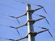 Stromleitung in Sarnen. (Archivbild: OZ)