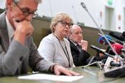 Malgorzata Gersdorf, die oberste Richterin Polens. (Marcin Obara/EPA, 4. Juli 2018)