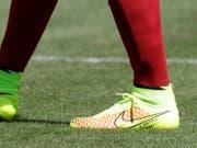 Nike zieht an WM als Ausrüster an Adidas vorbei. (Bild: KEYSTONE/FR596 AP/LUIS M. ALVAREZ)