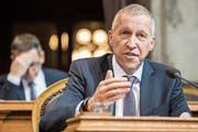 Der Krienser Ständerat Konrad Graber (CVP) setzt sich für flexiblere Arbeitszeiten ein. (Bild: Alessandro della Valle (Bern, 13. Dezember 2016))