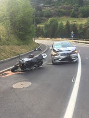 So sah es an der Unfallstelle aus. (Bild: Kantonspolizei Uri)