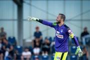 Mirko Salvi – hier im Testspiel zwischen GC und dem FC Aarau – wird die neue Nummer 1 beim FC Luzern. (Bild: Melanie Duchene/Keystone (Niederhasli, Samstag, 23. Juni 2018))