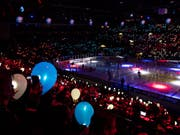 Das Zürcher Hallenstadion ist im kommenden November Schauplatz von zwei Ligaspielen der KHL (Bild: KEYSTONE/ENNIO LEANZA)